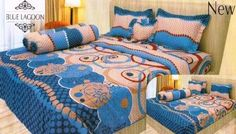 Sprei Internal BLUE LAGOON ukuran:180x200x20 cm 2 sarung bantal 2 sarung guling Harga : 165.000 #spreilucu #spreidewasa