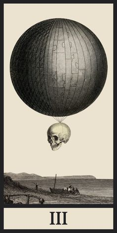 Tarot III by Ignacio Cobo(on tumblr)Digital collage 624 x 1245 pixels.