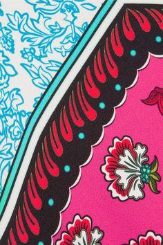 Mary Katrantzou - Osmond Printed Crepe Midi Dress - Fuchsia - UK10