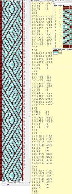 Svetodara band, 28 tarjetas, 3 colores, repite esquema cada 80 movimientos // sed_147a༺❁