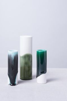 Reiko Kaneko's new look was revealed at London Design Festival with Exploring Glaze, as well as a new website.