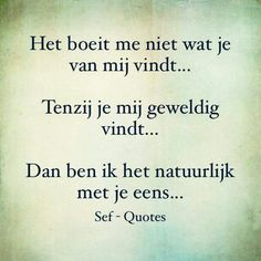 Sef Quotes, Words Quotes, Qoutes, Dutch Phrases, Text Me, Life Lessons, Haha, Humor, Studio