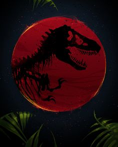Jurassic Park poster by from collection. By buying 1 Displate, you plant 1 tree. Jurassic Park Costume, Jurassic Park Poster, Jurassic Park Party, Jurassic Movies, Jurassic World Dinosaurs, Jurassic Park World, Jurassic World Wallpaper, Dinosaur Wallpaper, Park Art