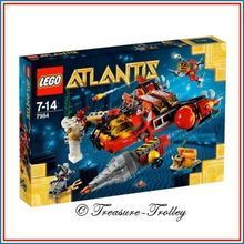 New LEGO Atlantis Deep Sea Raider 265 Pieces 7984 Sealed & Mint Fast Turnaround
