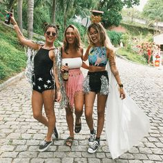 Festival Looks, Boho Festival, Festival Outfits, Festival Fashion, Group Halloween Costumes, Halloween Outfits, Cool Costumes, Fantasy Party, Music Fest