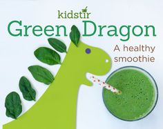 Green Dragon Smoothie - for kids or adults {recipe}