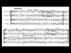 Mozart - Divertimento No. Classical Music, Sheet Music, Play, My Favorite Things, Youtube, Collection, Music, Music Score, Music Charts