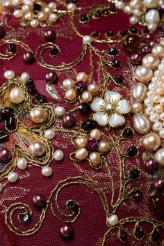 Traditional costume of Russian aristocrats - details