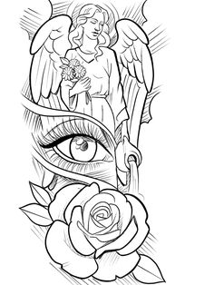 - Your Pros And Negative aspects Regarding A Body art Sleeve Pattern Half Sleeve Tattoos Drawings, Half Sleeve Tattoos For Guys, Forearm Sleeve Tattoos, Best Sleeve Tattoos, Man Arm Tattoo, Angel Sleeve Tattoo, Forearm Tattoo Quotes, Beard Tattoo, Angel Tattoo Designs