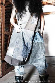 Oversized Xchest Bag by TrivialityLab on Etsy