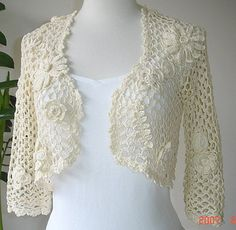 Ravelry: Bolero #471-T6-713 pattern by Phildar Design Team