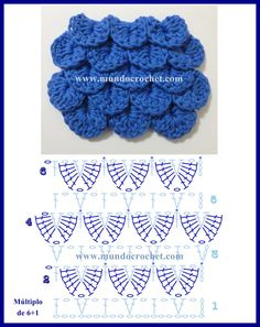 Hottest Pictures Crochet for kids crocodile stitch Tips Como tejer el punto cocodrilo o escama a crochet o ganchillo patrono diagrama – Crochet Scarf Diagram, Crochet Crocodile Stitch, Crochet Stitches Chart, Crochet Motif, Crochet Flowers, Free Crochet, Crochet Daisy, Crochet Edgings, Crochet Granny