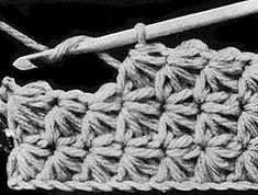 Watch This Video Beauteous Finished Make Crochet Look Like Knitting (the Waistcoat Stitch) Ideas. Amazing Make Crochet Look Like Knitting (the Waistcoat Stitch) Ideas. Diy Tricot Crochet, Crochet Gratis, Crochet Motifs, Crochet Stitches Patterns, Knit Or Crochet, Learn To Crochet, Knitting Patterns, Star Patterns, Star Stich Crochet