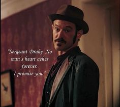 Ripper street homer jackson ... lovely words