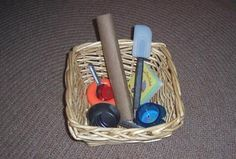 My Confessions of a Montessori Mom blog: The Montessori Treasure Basket for Infants