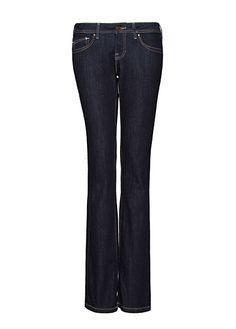 MANGO - Belt botton jeans