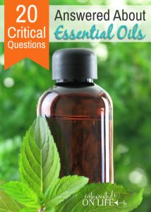 20 Critical Questions Answered About Essential Oils @ IntoxicatedOnLife.com #EssentialOils #HomeRemedy