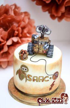 ChokoLate wall-e cake