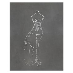 Timi and Leslie Dress Form Art Print | Wayfair