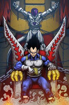 Lord Vegeta by SiriusSteve on DeviantArt Dragon Ball Gt, Dragon Rey, Majin Boo Kid, Vegito Y Gogeta, Susanoo, Z Arts, Fanarts Anime, Animes Wallpapers, Cartoon