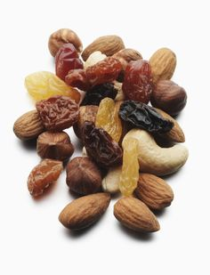 IRON DEFICIENCY ANEMIA- EAT:  meat, beans, broccoli, potatoes, leafy greens, green beans, tomatoes; dried fruit: apricots, peaches prunes & raisins and Nuts: cashews, hazelnuts, pistachios and almonds; pumpkin seeds, fortified breads and cereals - and and fruit for Vit C- which is needed to help your body absorb the iron.