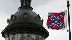 Confederate Flag Flying on South Carolina Capitol Grounds Provokes Anger After Charleston Shooting (Jun 18, 2015)