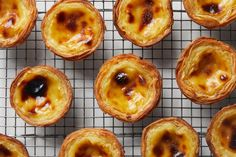 A crisp pastry shell houses creamy custard before baking until golden for this beloved Portuguese egg tart recipe from George Mendes. Natas Recipe, Portuguese Egg Tart, Portuguese Desserts, Portugese Custard Tarts, Portuguese Recipes, Tart Molds, Pastry Shells, Tasting Table, Tart Recipes