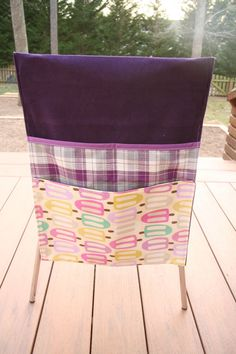11 best chair bags images school chairs bags sewing chair covers rh pinterest com