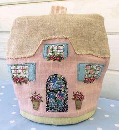 embroidered tea cozy