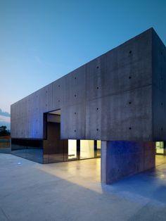 Architektur Italien Wohnhaus-Beton Matteo-casari architetti