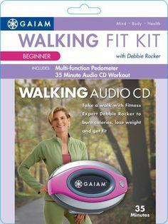 Gaiam Walking Fit Kit Pedometer Plus Audio CD (Entry Level) by Gaiam, http://www.amazon.com/dp/B000PHCYW0/ref=cm_sw_r_pi_dp_uteRqb00A25HB