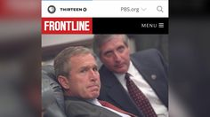 Exclusive: New Photos Show Bush's Response To 9/11 Attacks | FRONTLINE | PBS http://www.pbs.org/wgbh/frontline/article/exclusive-new-photos-show-bushs-response-to-911-attacks/