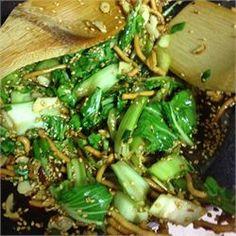 Rosie's Bok Choy Salad - Allrecipes.com