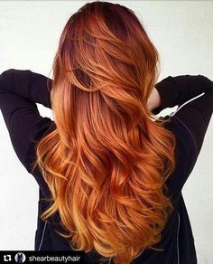 Are you looking for ginger hair color styles? See our collection full of ginger hair color styles and get inspired! Ginger Hair Color, Red Hair Color, Ombre Ginger Hair, Red Color, Colour Melt Hair, Hair Colour Ideas, Brownish Red Hair, Latest Hair Color, Fall Hair Colors