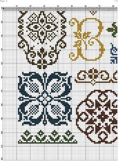 Biscornu Cross Stitch, Cross Stitch Sampler Patterns, Cross Stitch Freebies, Cross Stitch Pillow, Cross Stitch Tree, Cross Stitch Flowers, Cross Stitch Designs, Crochet Carpet, Cross Stitch Collection
