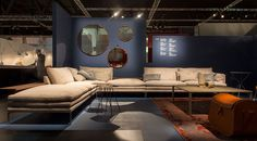 Zanotta space including the William sofa