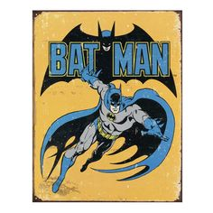 Batman Retro Vintage Tin Sign