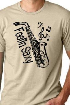 Saxophone Shirt!