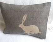 This little hare would look really cute in knit