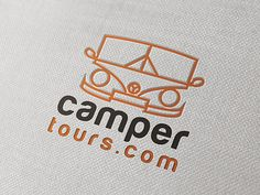 Logo design for Camper Tours