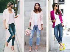 Для начала напомню, блейзер – это разновидность клубного пиджака. Некоторые сторонятся этого предмета одежды, считая его чисто мужским.