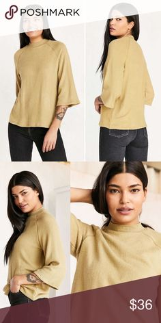 Project Social T Super Soft Sweater • brand: project social t x urban outfitters  • condition: nwt  • size: large  • description: literally the softest sweater ever! high crew neck.    • trying to downsize my closet! bundle to save 💰 no trades or holds. happy shopping! Project Social T Sweaters Crew & Scoop Necks