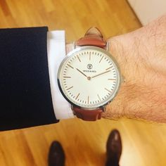 Taking care of business by @woodseawatches.      #dailywatch #watch #watchstyle #instawatch #menwatch #watchoftheday #mensgoods #menstyle #instastyle #timepiece #klocka #mrwatchguide #watchmania #accessories #preppy #inspiration #fashion #watchstrap #klocksnack #tidssonen #watchdaily #horology #watchporn #wristwatch #wotd #dinkawatches #vintage #woodseawatches #woodsea