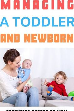 Parenting a toddler and newborn is no easy task! Learn simple ways to provide newborn care and keep your toddler busy. Discover how to help your toddler cope with a new baby. Newborn Schedule, Toddler Schedule, Mom Schedule, Training Schedule, Potty Training, New Sibling, Older Siblings, Toddler Behavior, Toddler Development