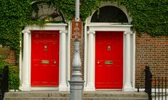 Dublin, the Georgian Doors