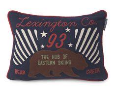 Lexington Kissenhülle Holiday Bear 30 x 40 cm