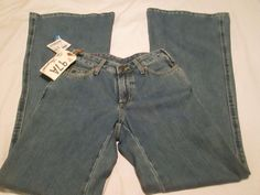 Lois Jeans, Bluejeans, Juniors NWT Made in Spain Rare  27/34  #Lois #Flare