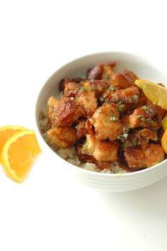 Crockpot Crispy Orange Chicken by crockpotgourmet #Chicken #Orange #Crockpot