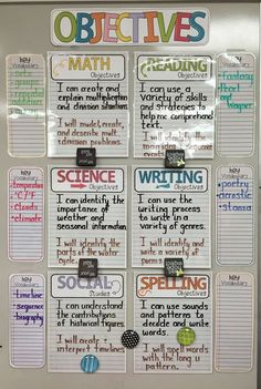 Classroom - Totally Terrific in Texas Objective Headers 5th Grade Classroom, Classroom Design, School Classroom, Future Classroom, Classroom Decor, Classroom Setting, Year 3 Classroom Ideas, Classroom Wall Displays, Inclusion Classroom