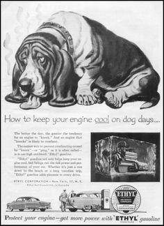Old Gasoline Advertisement